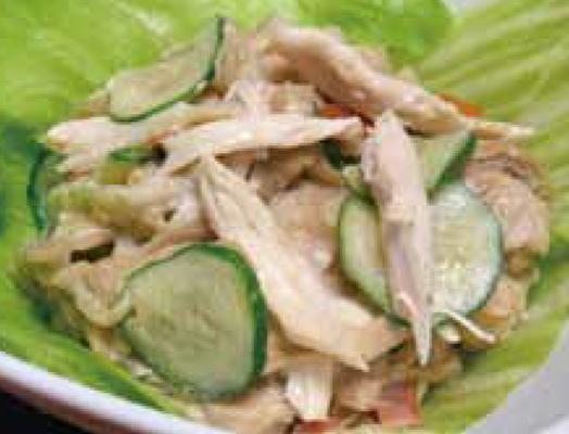 切干し大根のごまサラダ ー「切干し大根の炒り煮」を利用してー