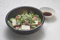 豆腐ヘルシーサラダ ー「豆腐とさば缶詰」を利用してー