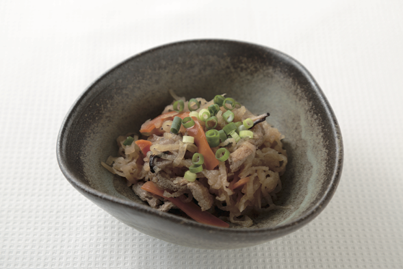 切干し大根の炒り煮 ~作っておくと便利なお総菜