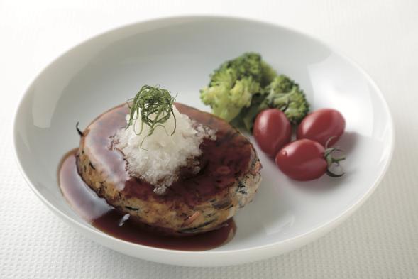 ひじきの和風ハンバーグ 軽食編 —「ひじきの炒り煮」を利用して—